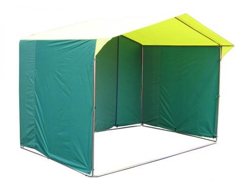 Торговая палатка «Домик» 3 х 2 К из квадратной трубы 20х20 мм, тент ПВХ