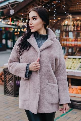 Пальто укороченное женское