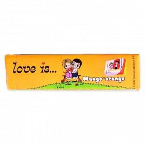 Жевательная конфета LOVE IS со вкусом Манго-апельсин 25 г