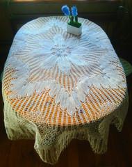 Скатерть круглая 220 см