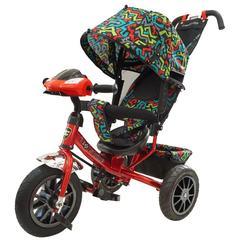 Велосипед Lexus trike 12x10 Надувные, светомуз. панель, Красный (950M2-N1210PWTP-1)