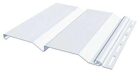 Сайдинг Файнбир Standart Classic Color белый 3660х205 мм