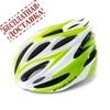 Велошлем Cigna WT-029 (серый/зелёный/белый)