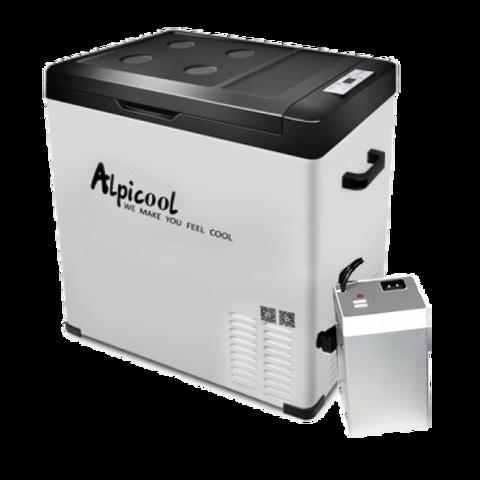 Компрессорный автохолодильник Alpicool C75 (75 л, 12/24/220, внешняя батарея)