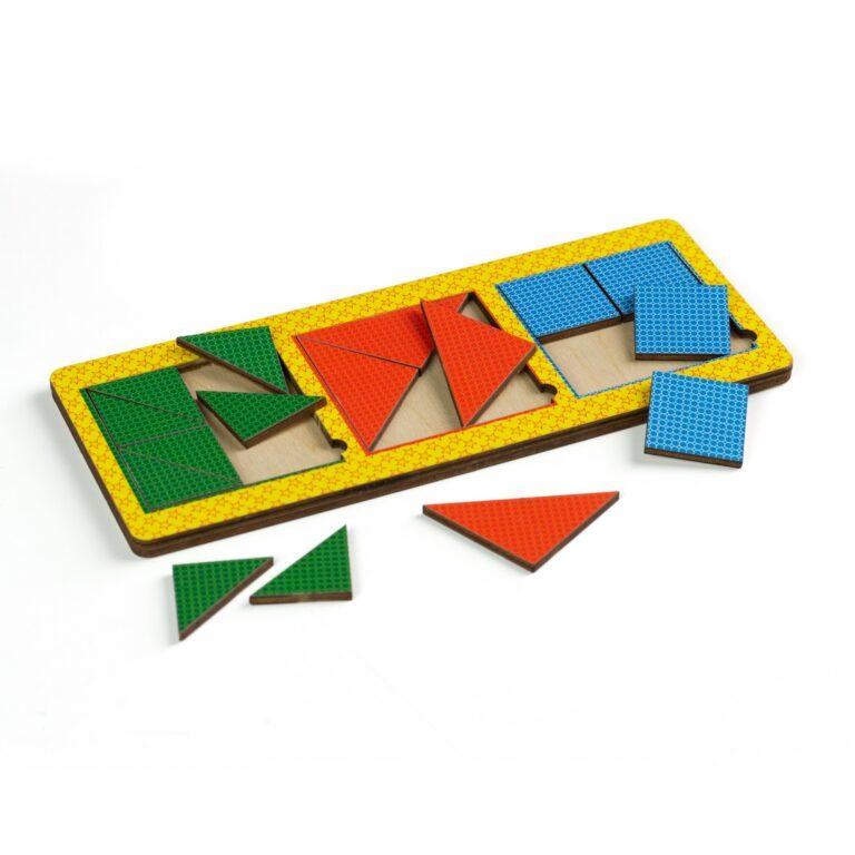 «Никитины 3 квадрата сложные»