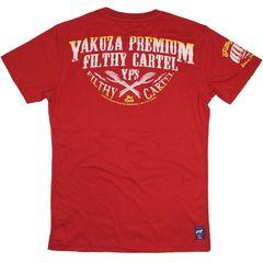 Футболка красная Yakuza Premium 2609