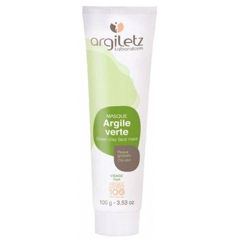 Маска для лица с зеленой глиной для жирной кожи Argiletz, 100 гр