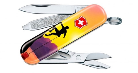 Нож-брелок Victorinox 0.6223.L2004 Classic Climb High Limited Edition 2020