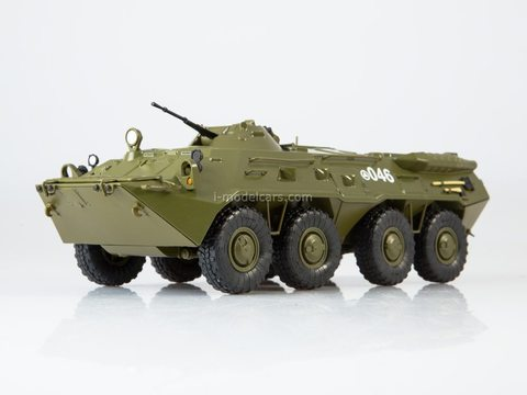 Armored personnel carrier BTR-80 Our Tanks #26 MODIMIO Collections 1:43