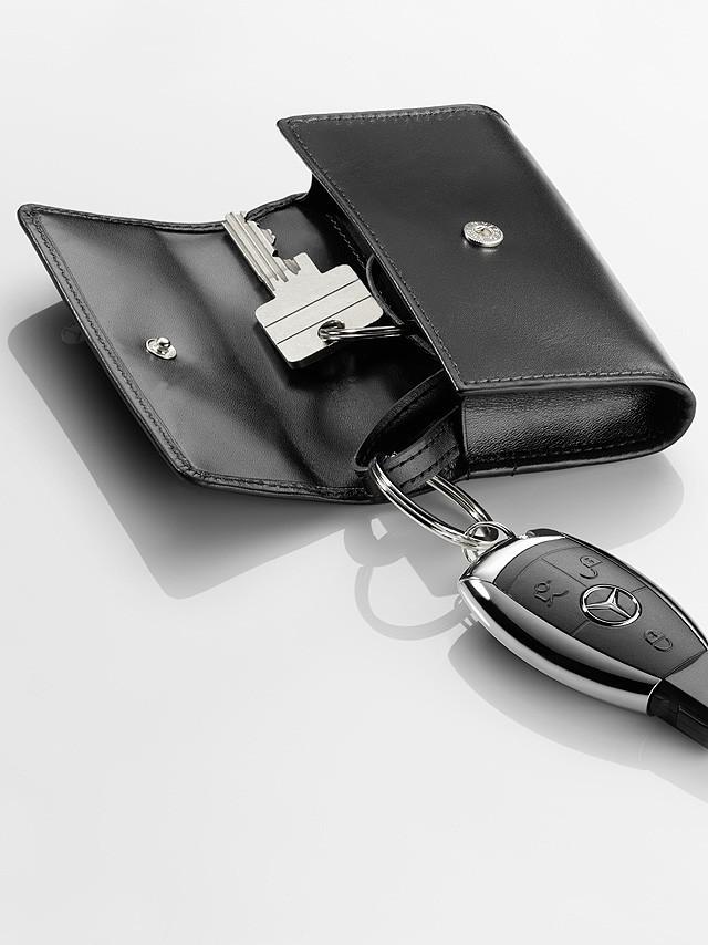 Кожаный чехол для ключей Mercedes-Benz