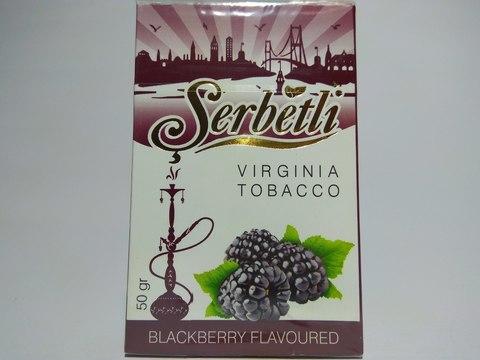 Табак для кальяна SERBETLI Blackberry 50gr
