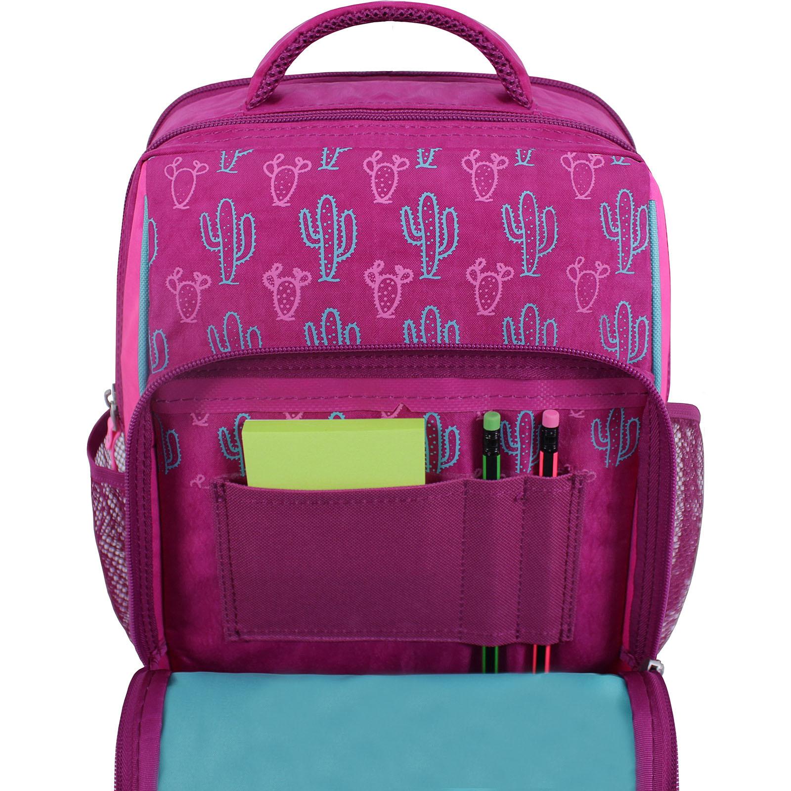Рюкзак школьный Bagland Школьник 8 л. малиновый 617 (0012870) фото 4