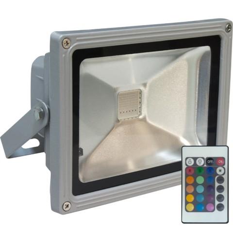 Прожектор светодиодный 10 Вт RGB с пультом управления
