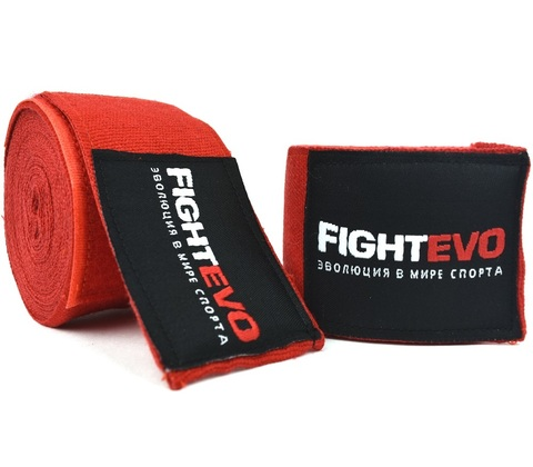 Бинты для бокса FightEvo 5m Red