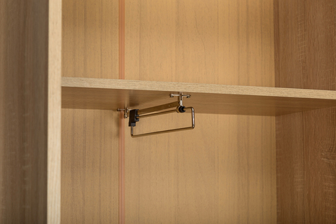 Шкаф для одежды Глория 2 108 Моби дуб сонома