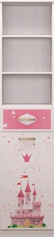 Шкаф-стеллаж Принцесса 21 Ижмебель лиственница сибио