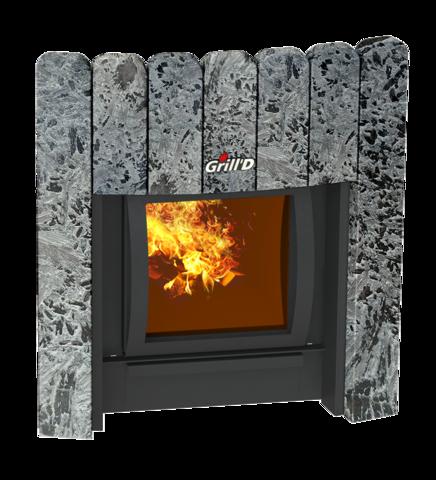 Декоративный экран 350 Window Stone (Серпентинит)