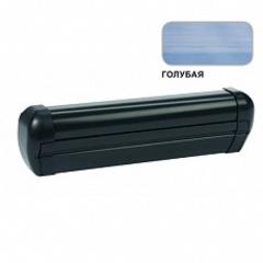 Маркиза настенная с мех.приводом DOMETIC Premium DA2035, цв.корп.-черный, ткани-голубой, Ш=3,55м