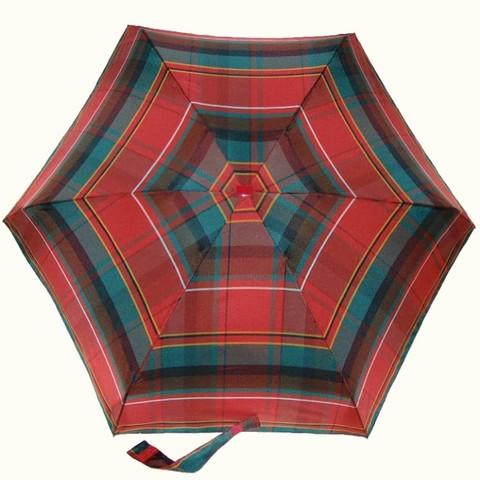 Микро зонтик в клетку