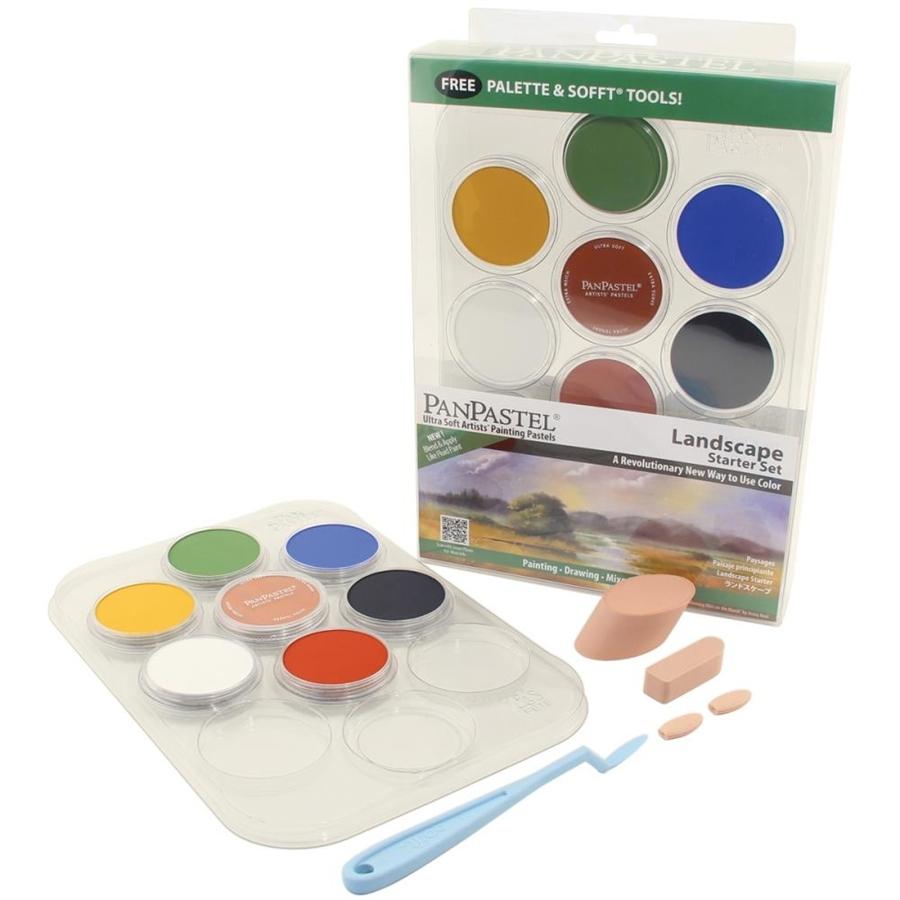 Набор ультрамягкой пастели PanPastel 7 цветов (Landscape starter set)