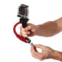 Портативный стабилизатор для GoPro красный