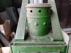 Фонарь малый зеленый 1949 года