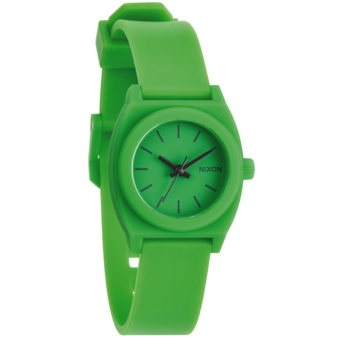 Часы NIXON Small Time Teller P Green