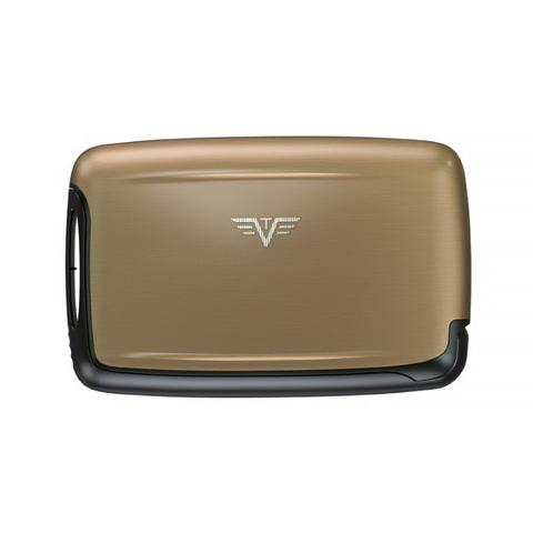 Визитница c защитой Tru Virtu Pearl, светло-бежевый , 104x67x17 мм