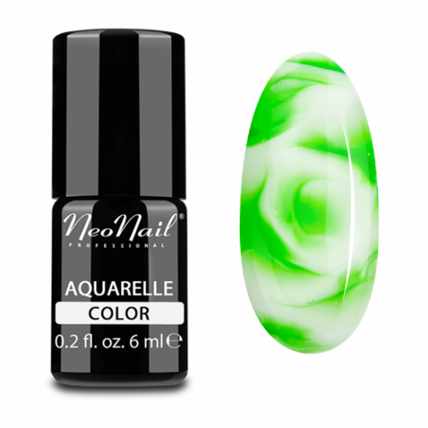 NeoNail Гель-лак акварельный UV 6ml Green Aquarelle №5751-1