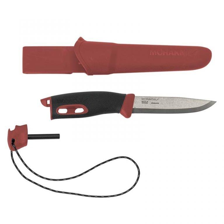 Нож Morakniv Companion Spark Red, нержавеющая сталь, 13571