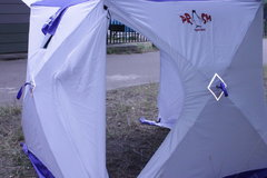 Палатка куб всесезонная Пингвин Призма Шелтерс двухслойная
