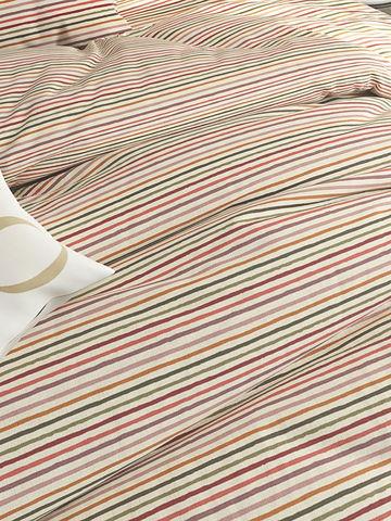 Постельное белье  -Нежная полоска- 2-сп на молнии  Наволочка 50х70 см 2 шт  Простынь на резинке 160х200х26 см  Пододеяльник 175х215 см