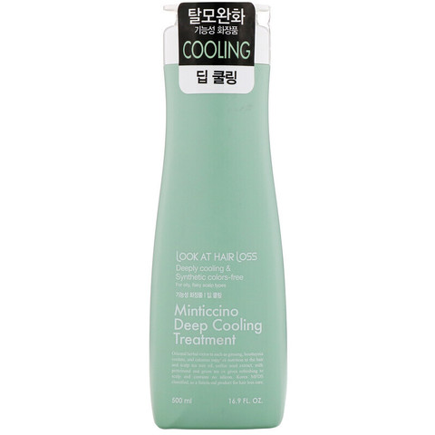 Охлаждающий кондиционер для волос DAENG GI MEO RI Look At Hairl Loss Minticcino Deep Cooling Treatme