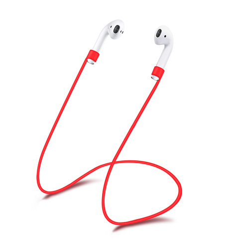 Шнурок AirPods (красный)