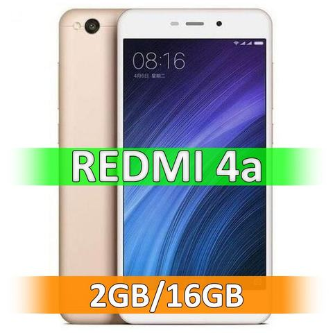 Смартфон Xiaomi Redmi 4A (2-16Gb) Gold