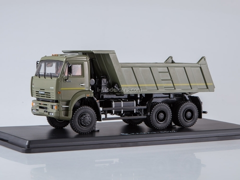 KAMAZ-6522 6x6 tipper khaki 1:43 Start Scale Models (SSM)