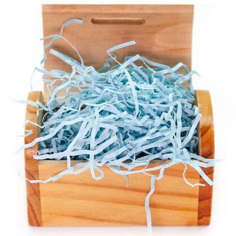 Наполнитель бумажный, Голубой лед, 50 гр