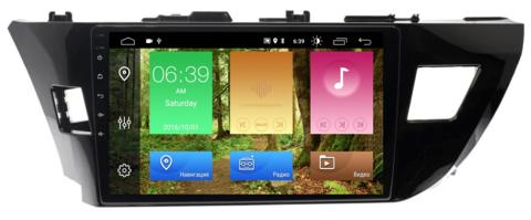 Штатная магнитола Toyota Corolla 2013-2016 Android 10 IPS DSP модель HT 7028