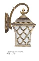 Светильник садово-парковый, 60W 230V E27 IP44 черное золото, PL4062 (Feron)