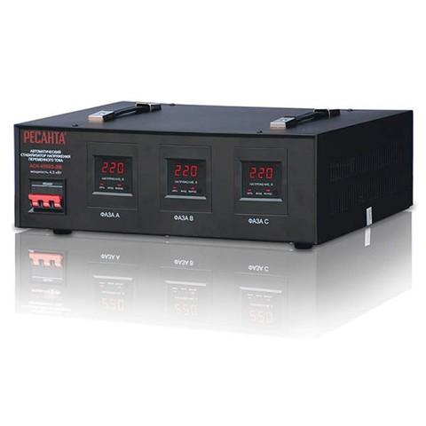 Стабилизатор Ресанта ACH-4500/3-ЭМ