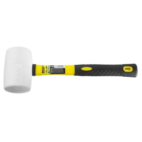 STAYER  680г Белая резиновая киянка с фиберглассовой рукояткой