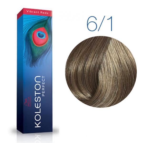 Wella Professional KOLESTON PERFECT 6/1 (Темный блонд-пепельный) - Краска для волос