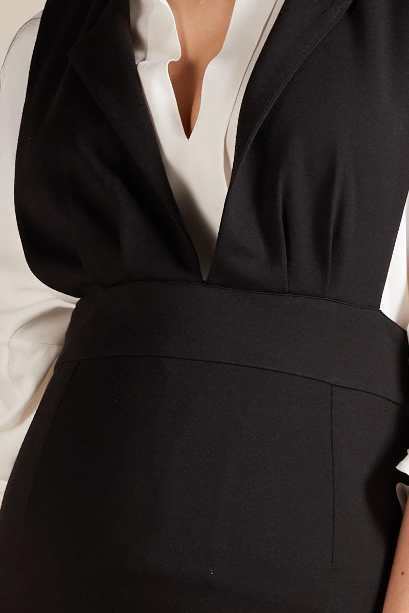 Сарафан для беременных 09807 черный