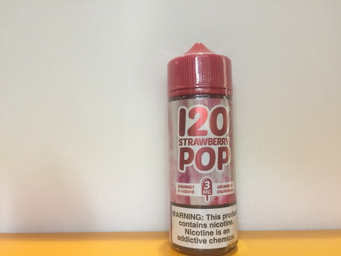 Strawberry Pop 120мл by MadHatter