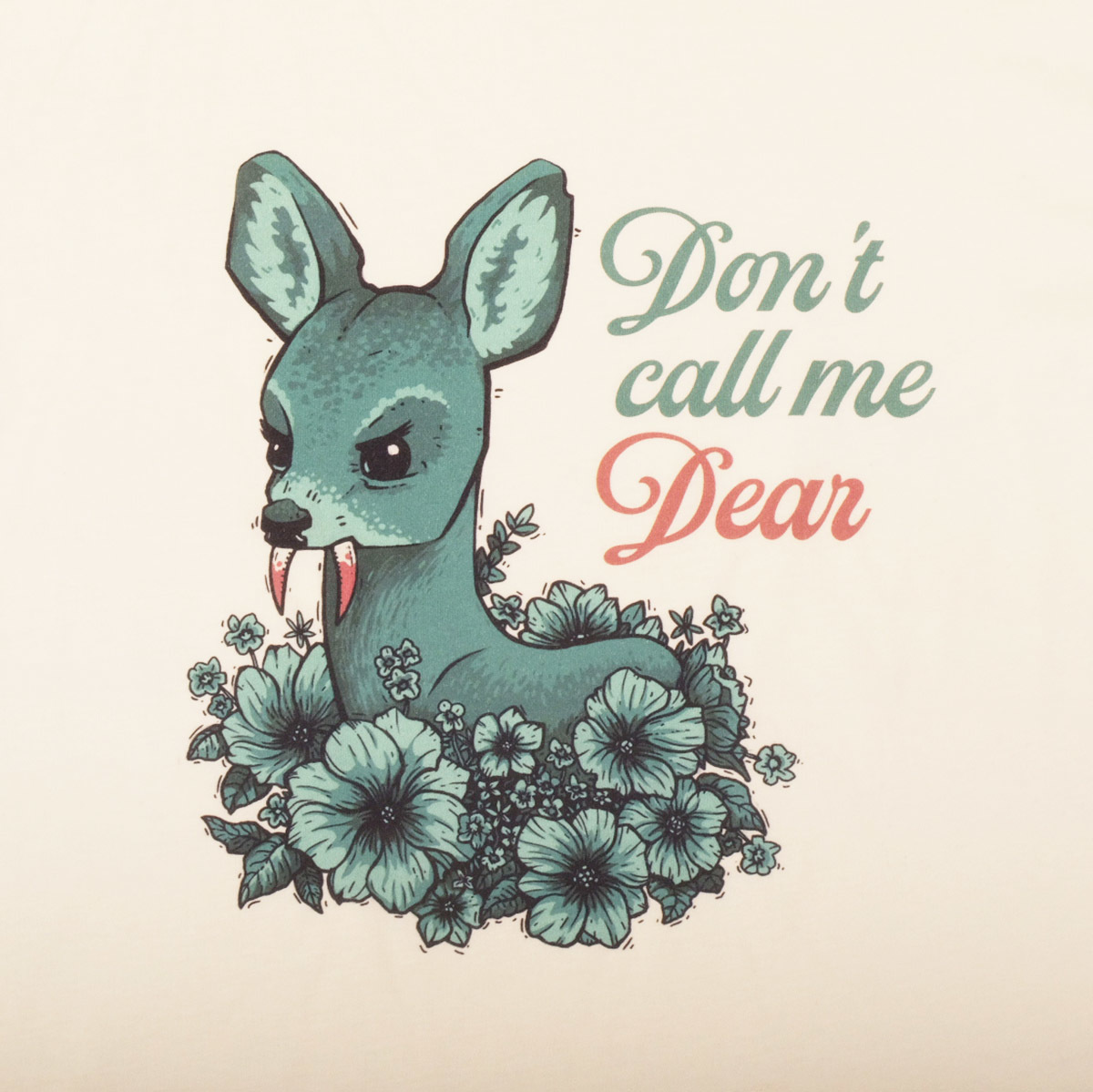 Don't call me dear / футболка