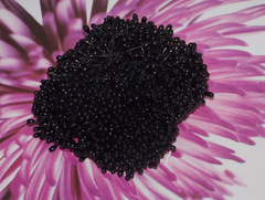 Тычинки-капельки черные
