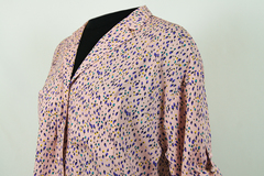 Блузка Elite 3892 рубашка карманы тюльпанчики 3/4