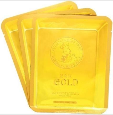 ELIZAVECCA Маска для лица с золотом и слизью улитки (тканевая) 25мл