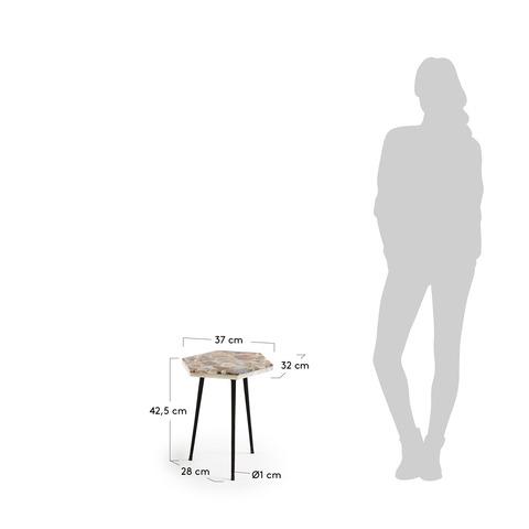 Приставной стол Rummer черный
