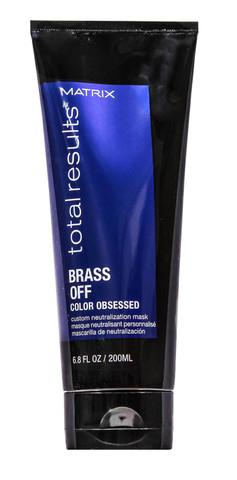 Маска для волос, нейтрализующая желтизну, Matrix Total Results Brass Off,200 мл.